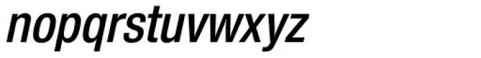 Nimbus Sans Novus Cond SemiBold Italic Font LOWERCASE