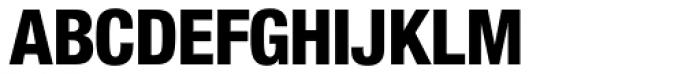 Nimbus Sans Novus D Cond Heavy Font UPPERCASE