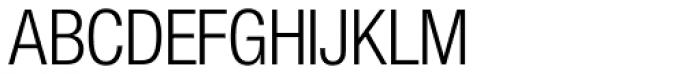 Nimbus Sans Novus D Cond Regular Font UPPERCASE