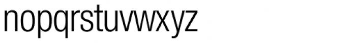 Nimbus Sans Novus D Cond Regular Font LOWERCASE