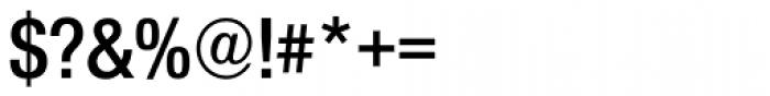 Nimbus Sans Novus D Cond SemiBold Font OTHER CHARS