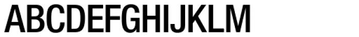 Nimbus Sans Novus D Cond SemiBold Font UPPERCASE