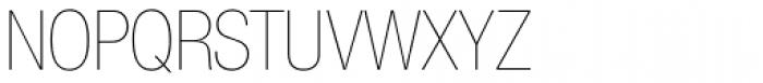 Nimbus Sans Novus D Cond UltraLight Font UPPERCASE