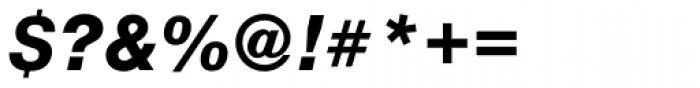 Nimbus Sans Novus Heavy Italic Font OTHER CHARS