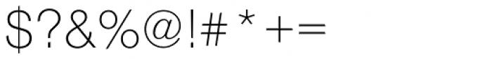 Nimbus Sans Novus Light Font OTHER CHARS