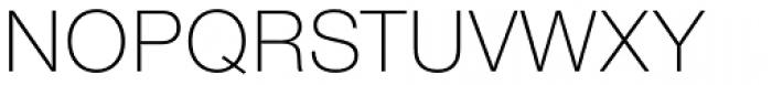 Nimbus Sans Novus Light Font UPPERCASE