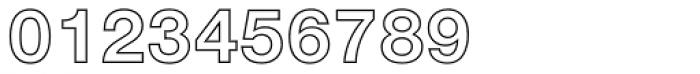 Nimbus Sans Novus Outline Bold Font OTHER CHARS