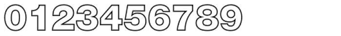 Nimbus Sans Novus Outline D Black Font OTHER CHARS