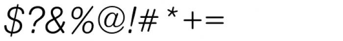 Nimbus Sans Round Regular Italic Font OTHER CHARS