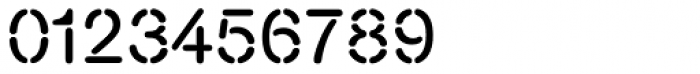 Nimbus Stencil D Font OTHER CHARS