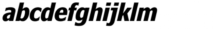 Nina Bold Italic Font LOWERCASE