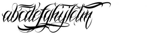 Nina Script Pro Alternates Font LOWERCASE