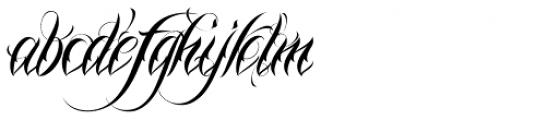 Nina Script Pro Font LOWERCASE