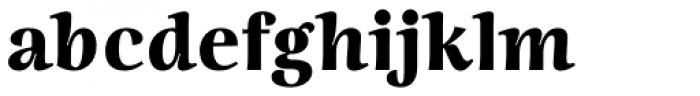 Ninfa Black Font LOWERCASE