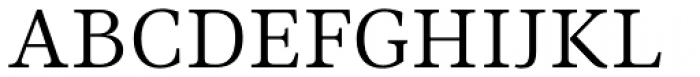 Ninfa Serif Book Font UPPERCASE