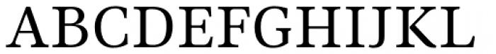 Ninfa Serif Font UPPERCASE