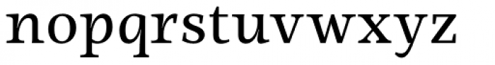 Ninfa Serif Font LOWERCASE