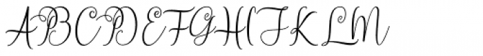 Ningsih Script Regular Font UPPERCASE