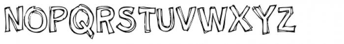 Nipey Font UPPERCASE