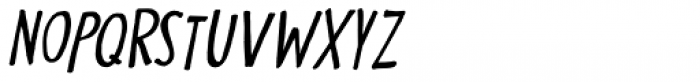 Nippon Note Italic Font UPPERCASE