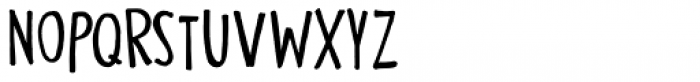 Nippon Note Regular Font UPPERCASE