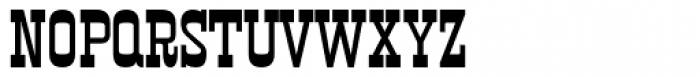 Nisswa Plain Font UPPERCASE