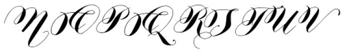 Nistiver Black Font UPPERCASE