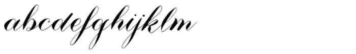 Nistiver Black Font LOWERCASE