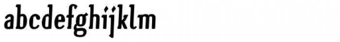 Nitaah One Bold Font LOWERCASE
