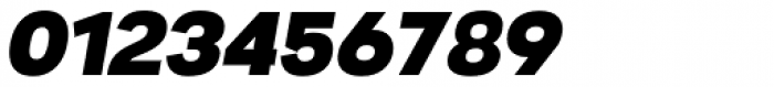 Nitro Black Oblique Font OTHER CHARS