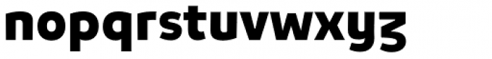 Niva Alt Black Font LOWERCASE