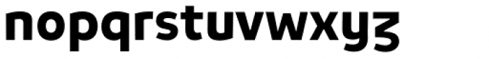 Niva Alt Bold Font LOWERCASE