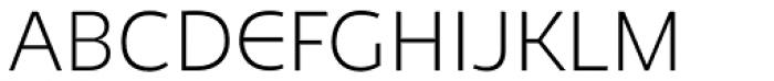 Niva Alt Extra Light Font UPPERCASE