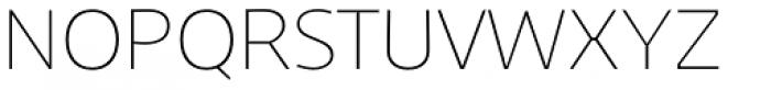 Niva Alt Ultra Light Font UPPERCASE