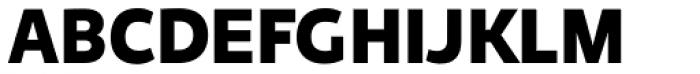 Niva Black Font UPPERCASE