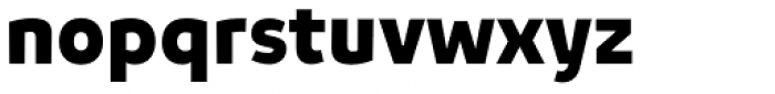 Niva Black Font LOWERCASE