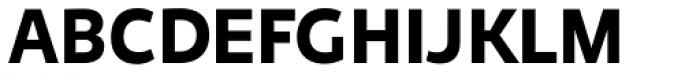Niva Bold Font UPPERCASE
