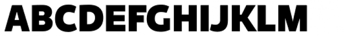 Niva Extra Black Font UPPERCASE