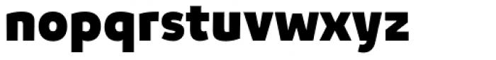 Niva Extra Black Font LOWERCASE