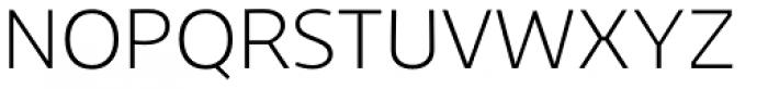 Niva Extra Light Font UPPERCASE