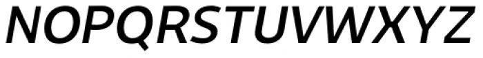 Niva Italic Font UPPERCASE