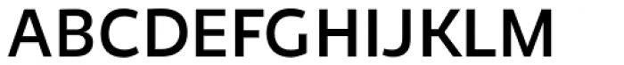 Niva Regular Font UPPERCASE