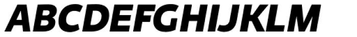 Niva Small Caps Black Italic Font UPPERCASE