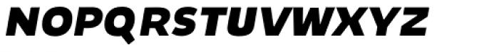 Niva Small Caps Black Italic Font LOWERCASE