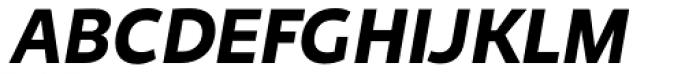Niva Small Caps Bold Italic Font UPPERCASE