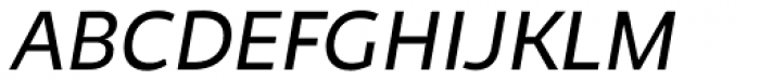 Niva Small Caps Book Italic Font UPPERCASE