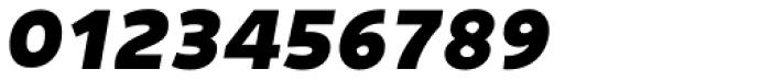 Niva Small Caps Extra Black Italic Font OTHER CHARS