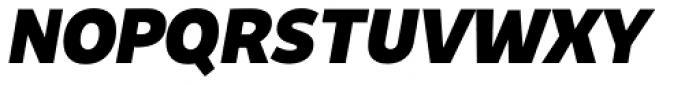 Niva Small Caps Extra Black Italic Font UPPERCASE