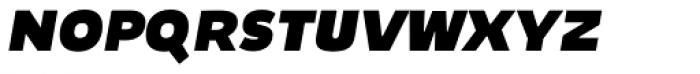 Niva Small Caps Extra Black Italic Font LOWERCASE