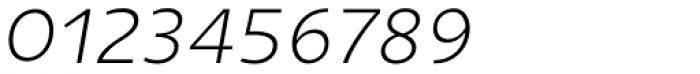 Niva Small Caps Extra Light Italic Font OTHER CHARS